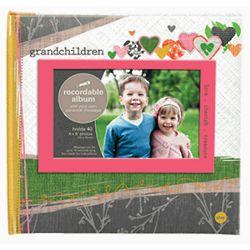 Grandchildren Talking Photo Album