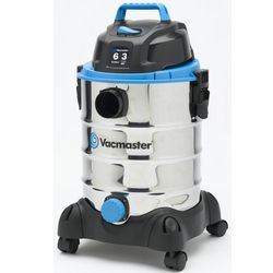 Six Gallon Stainless Steel Wet and Dry Vacuum