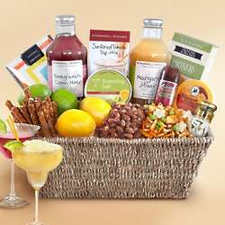 Deluxe Cocktail Snack Basket