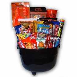 Cauldron Halloween Gift Bucket