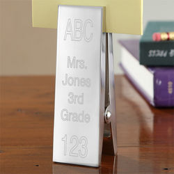 Elementary School Teacher Personalized Paperweight