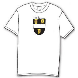 Personalized Irish Coat of Arms Crest T-Shirt