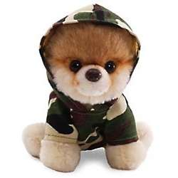 Boo World's Cutest Dog Camo Plush Toy