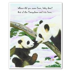 Follow the Panda Personalized Print