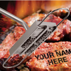 Personalized BBQ Branding Iron Set