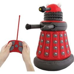 Doctor Who Radio Controlled Inflatable Red Dalek
