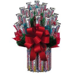 3 Musketeers Candy Bouquet