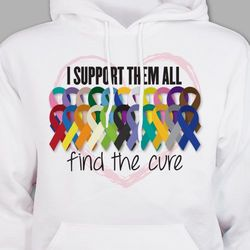 Support All Awareness Hooded Sweatshirt