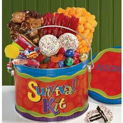 Survival Kit Treats Pail