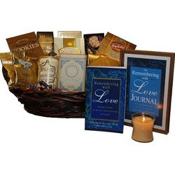 Remembering with Love Large Sympathy Gift Basket