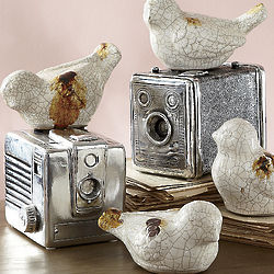Vintage Camera Trinket Box Set