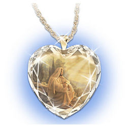 Always with You Crystal Heart Pendant