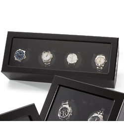 Black Quad Watch Winder