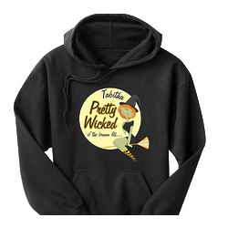 Personalized Pretty Wicked Hoodie