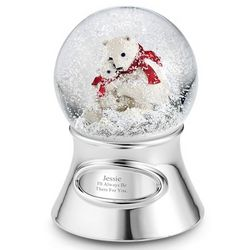 2012 Make-A-Wish Polar Bear Snow Globe