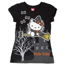 Hello Kitty Glitter Witch T-Shirt