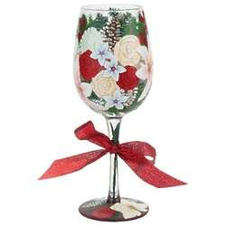 Holiday Bouquet, Too Wine Glass