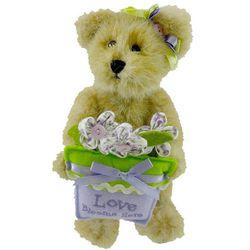 Iris Bloomin' Teddy Bear Decoration