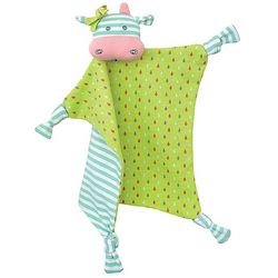 Organic Belle Cow Teething Blankie