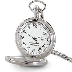 Engraveable Conductor's Pocket Watch