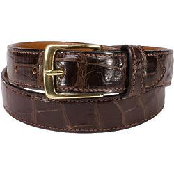 Alligator Skin Handmade Belt