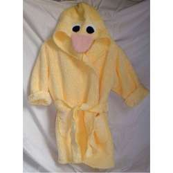 Child's Duck Bathrobe