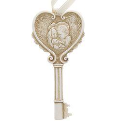 Holy Family Key-Shaped Ornament