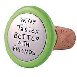 Tastes Better Wine Stopper