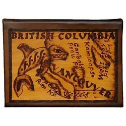 British Columbia Leather Photo Album in Natural