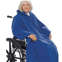 Unisex Fleece Wheelchair Cape