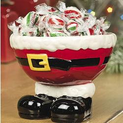 Santa Feet Bowl