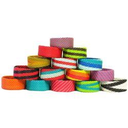 Medium Clunky Colorful Telephone Bracelet
