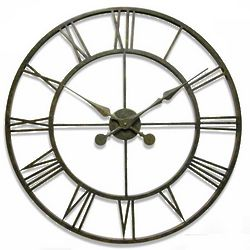 Iron Tower Wall Clock