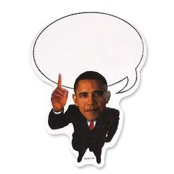 Obama Sticky Notes