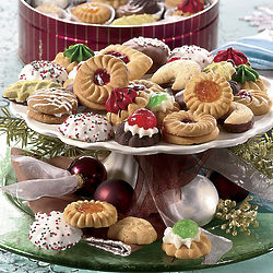 1-lb Hand-Decorated Holiday Cookies