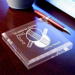 Personalized Ping Pong Paperweight