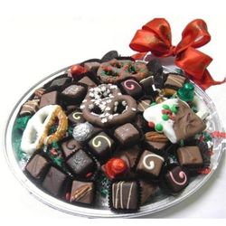 Assorted Chocolates Holiday Gift Platter