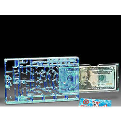 Blue Bilz Box for Cash or Gift Card