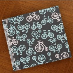Bicycle School Years Memory Book