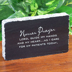 Personalized Nurse Marble Plaque