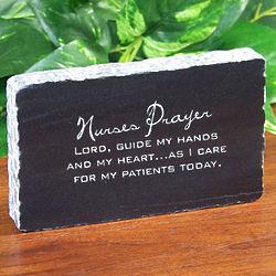 Personalized Nurse Marble Plaque