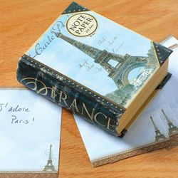 Paris Design Boxed Note Paper