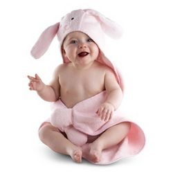 Baby's Hooded Bunny Towel