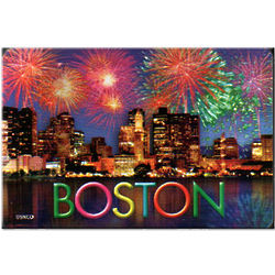 Boston Fireworks Playing Cards