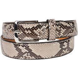 Python Skin Handmade Belt