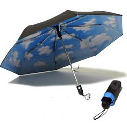 Mini Sky Umbrella with Auto-Open and Close