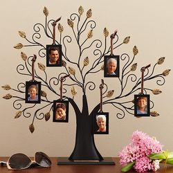 Personalized Oversized Metal Family Tree Sculpture