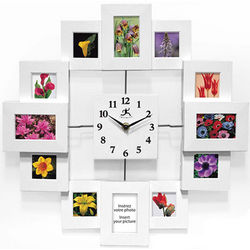 Time Capsule Picture Frame Wall Clock
