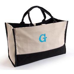 Monogrammed Metro Tote Bag