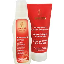 Pomegranate Body Wash and Body Lotion